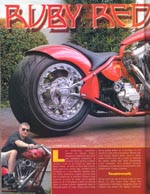 American Iron Quick Throttle Hot Bike In The Wind Wild Motorcycles France August 2003 Rod Bikes Freeway Magazine Europe And Most Recently